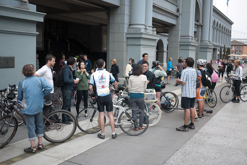 getting started at the ferry building